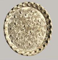 Pan Brass Thali