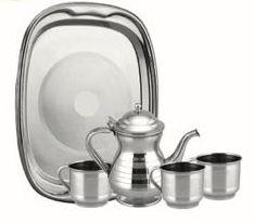 Steel Tea Set