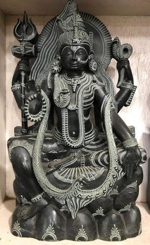 Mahakali Black Stone Statue