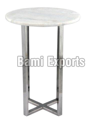 Stool with Marble Top