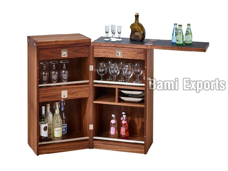 Wooden Bar Trunk