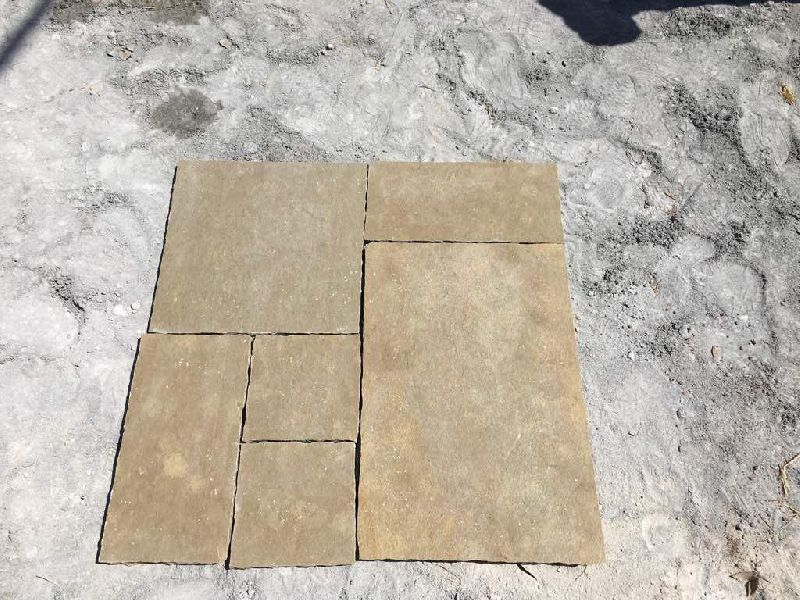 Natural Yellow Limestone
