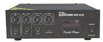 Amplifier with Bluetooth