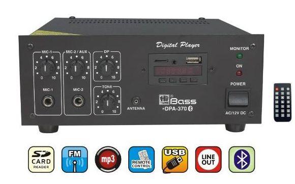 HDPA-370 Mixer Amplifier