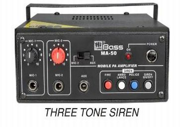 MA-50 Mobile PA Amplifier