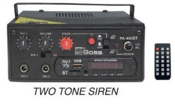 PA-400BT Mobile PA Amplifier