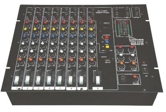 PA Audio Console Mixer