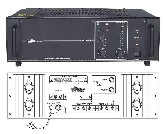 HSPA-5000EM Booster PA Amplifier
