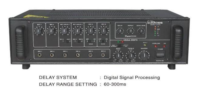 HSSA-300FX (ECO) High Power PA Amplifier