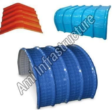 Color Coated Curved Roofing Sheet