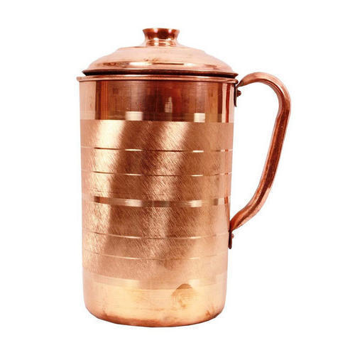 Silver Touch Copper Jug