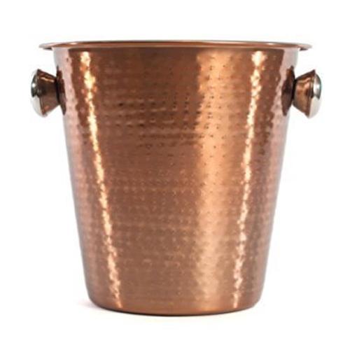 Copper Hammared Wine Bucket