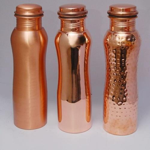 Curve Shape Copper Bottle