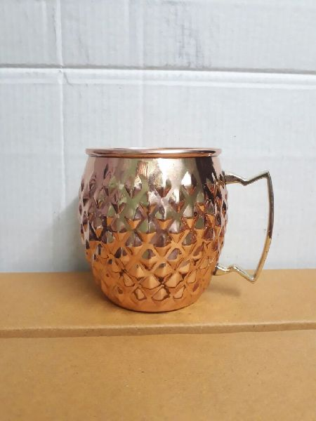 Diamond Copper Mug