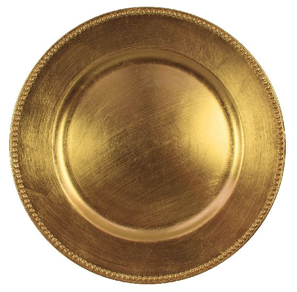 Gold Charger Plate