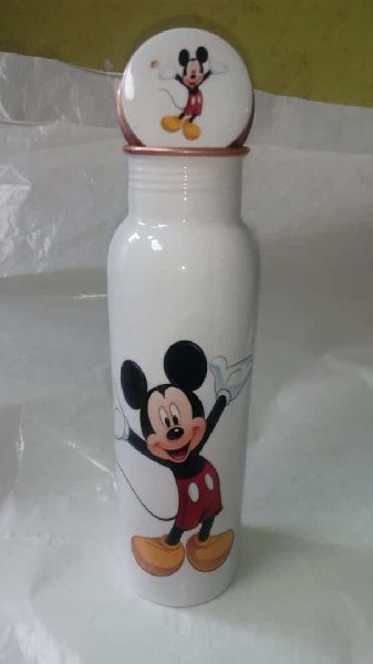 Meena Mickey Mouse Copper Bottle