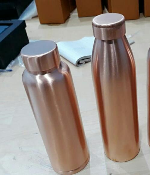 Plain Polish Copper Bottle-02