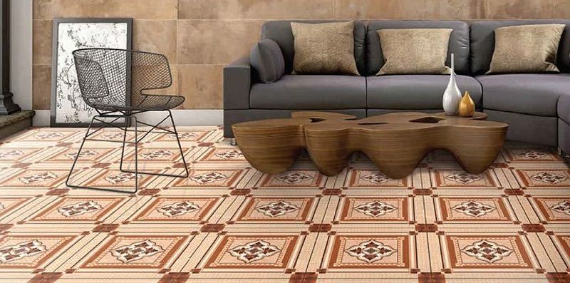 White Matte Series Floor Tiles