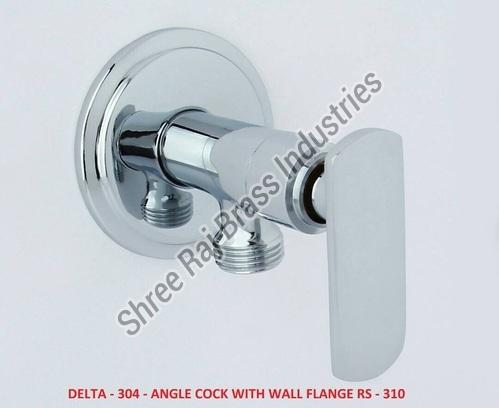 Delta-304 Angle Cock with Wall Flange