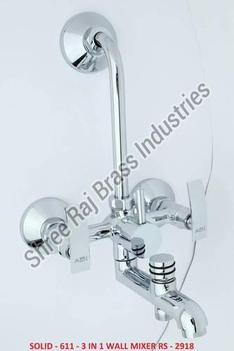Solid - 611 - 3 in 1 Wall Mixer