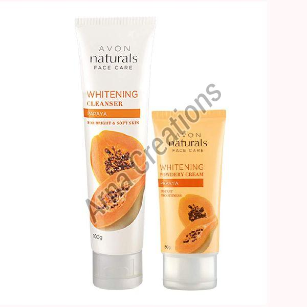 Avon Naturals Papaya Whitening Cleanser & Whitening Cream