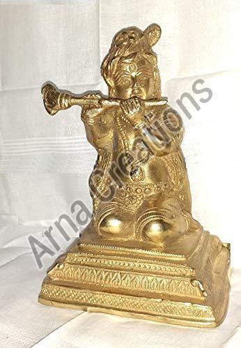 Brass Lord Bal Krishna Statue