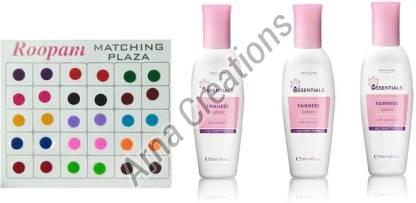 Oriflame Sweden Bindi with Essentials Fairness Lotion Combo
