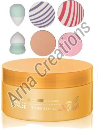 Oriflame Sweden Body Care Nourishing Body Butter With Sponge Combo