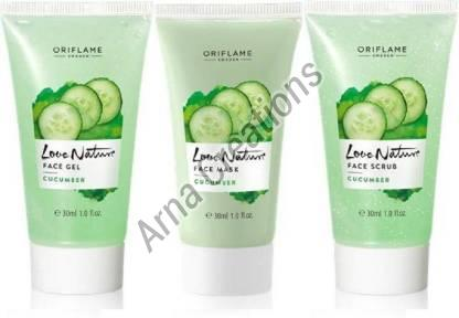 Oriflame Sweden Love Nature Cucumber Face Care Kit
