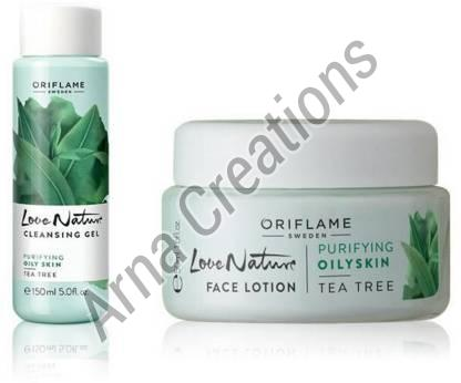 Oriflame Sweden Love Nature Face Lotion & Cleansing Gel Combo