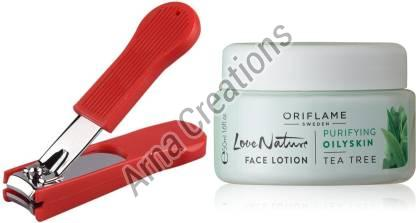 Oriflame Sweden Love Nature Face Lotion with Nail Cutter Combo