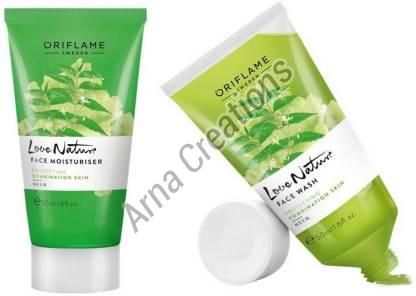 Oriflame Sweden Love Nature Face Wash and Moisturiser Combo