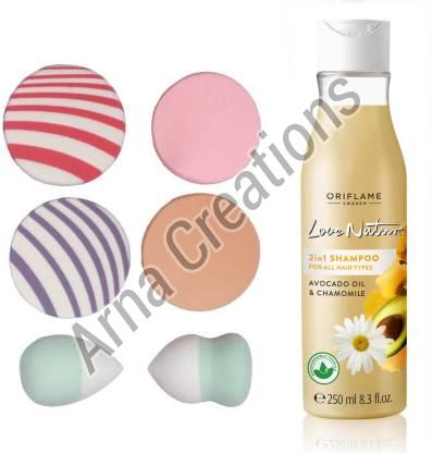 Oriflame Sweden Love Nature Shampoo with Sponge Combo