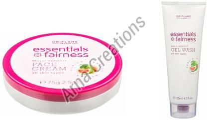 Oriflame Sweden Multi Vitamin Fairness Face Cream and Multi Benefit Gel Wash Combo