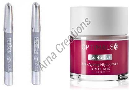 Oriflame Sweden Optimals Age Revive Night Cream with Parsoni Kajal Combo