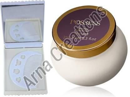 Oriflame Sweden Possess Perfumed Body Cream with Comb Mirror Combo