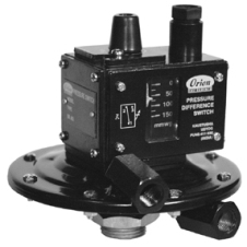 Adjustable Differential Pressure Switch