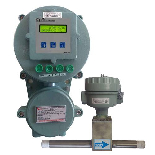 Insertion Paddle Wheel Type Flow Transmitter