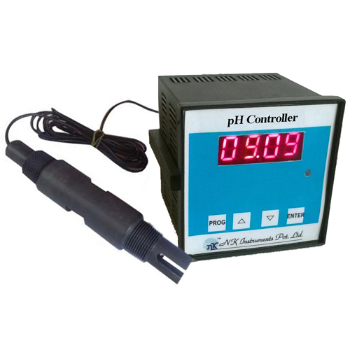 pH Controller with Electrode