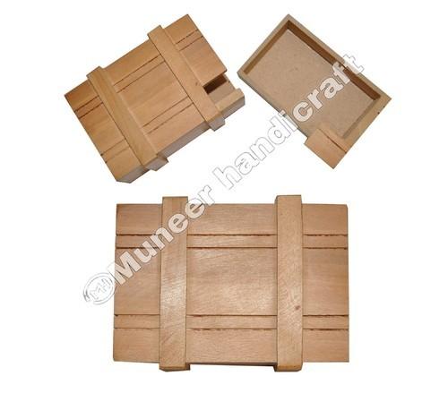Wooden Magic Puzzle Box