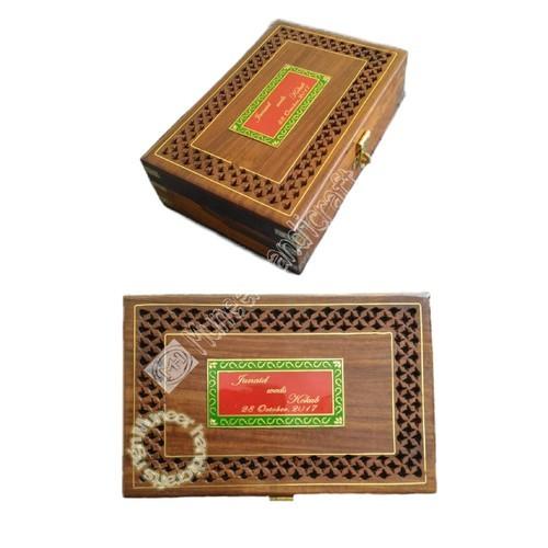 Wooden Invitation Box