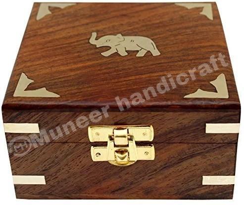 Wooden Jewellery Storage Box