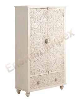 Wooden Almirah (EMI-1305)