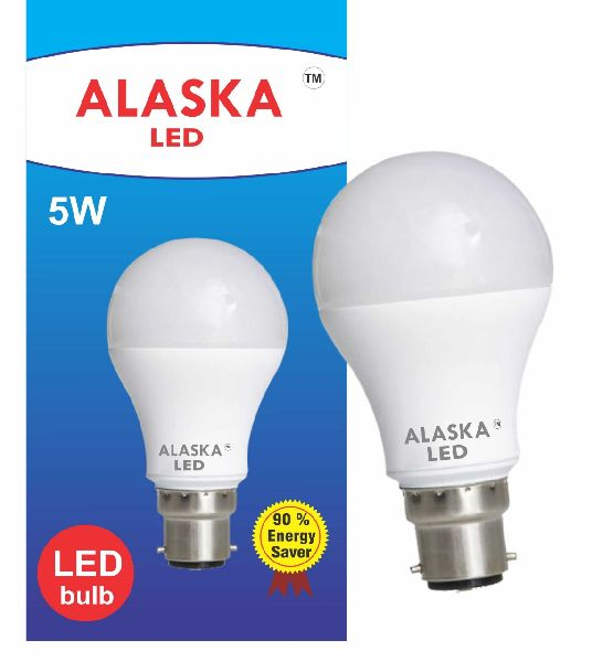 5 Watt Alaska LED Bulb With Driver MC PCB