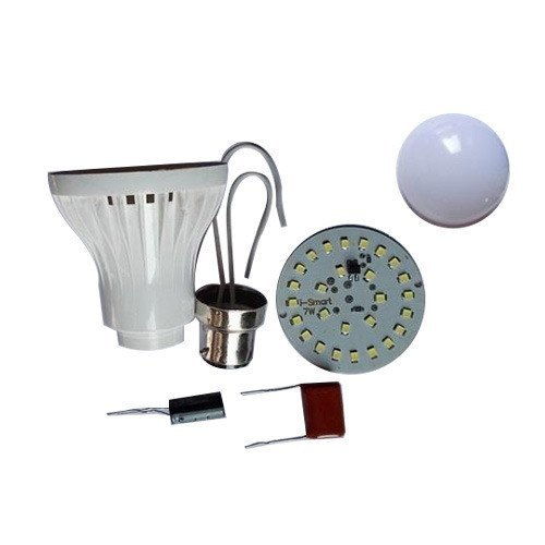 9 Watt LED Bulb Raw Material Plastic Body