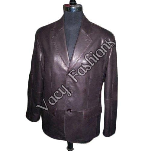 ladies designer leather coat