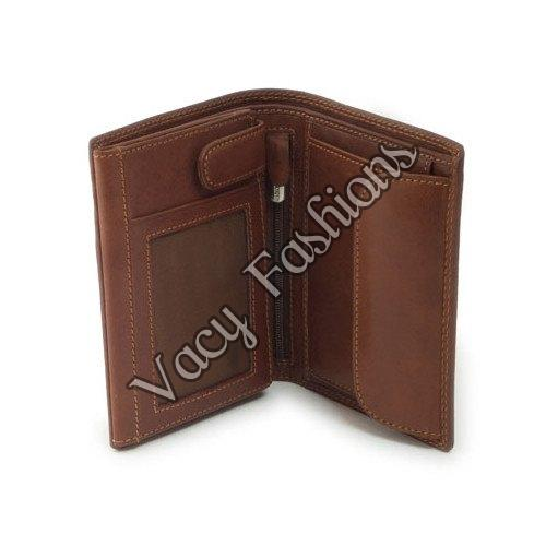 Mens Bifold Leather Wallet