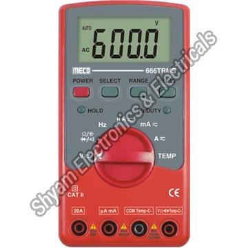 666 TRMS Digital Multimeter