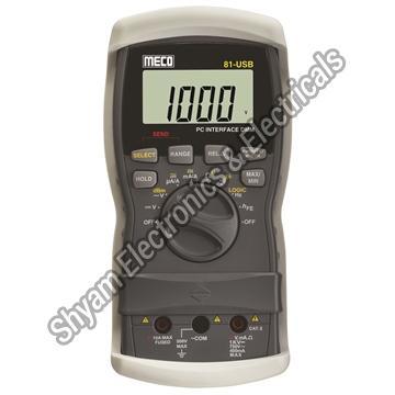 81-USB Digital Multimeter