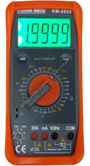 KM-6050 Professional Grade Digital Multimeter